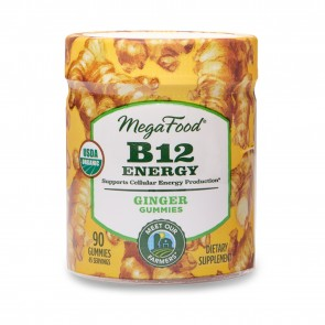 MegaFood B12 Energy Ginger 90 Gummies