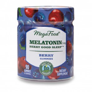 MegaFood Melatonin 3mg Berry
