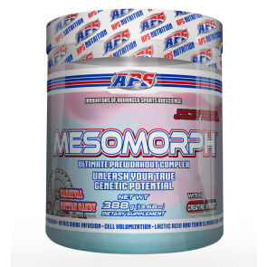 APS Mesomorph Carnival Cotton Candy 388 grams 25 Servings