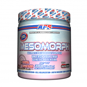 Mesomorph Limited Edition Carnival Cotton Candy Flavor 388 grams 25 Servings by APS