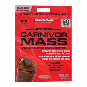 Carnivor Mass Chocolate Fudge 10 lbs by MuscleMeds