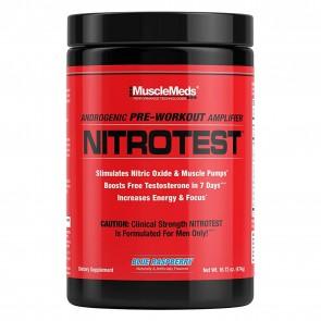 NitroTest Pre Workout Blue Raspberry