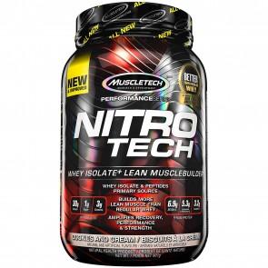 Muscletech Nitro Tech Cookies & Cream 2 lbs -front