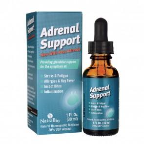 NatraBio Adrenal Support 1 Fl Oz