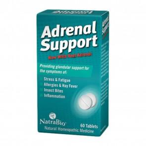 NatraBio Adrenal Support 60 Tablets