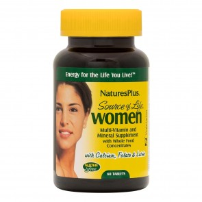 Natures Plus Source of Life Women's Multivitamin 60 tablets