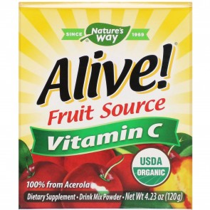 Nature's Way Alive Vitamin C Powder 120g 4.23oz