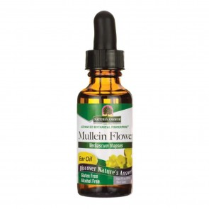 Natures Answer Mullein Flower Ear Oil 1 oz