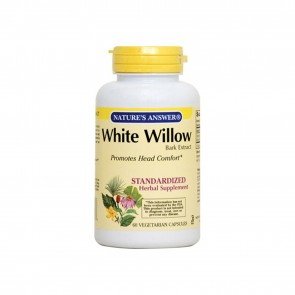 Natures Answer White Willow 60 Vegetarian Capsules