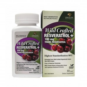 Natures Answer Wild Crafted Resveratrol 100 mg 60 Capsules