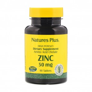 Natures Plus Zinc 50 mg