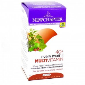 New Chapter Every Man II 40+ Multivitamin 48 Tablets