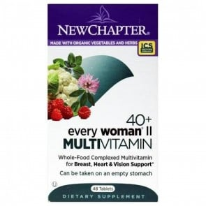 New Chapter Every Woman II 40+ Multivitamin 48 Tablets