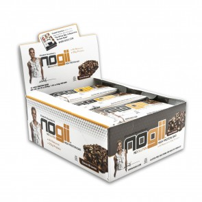 NoGii Chocolate brownie High Protein Bar (12 Count Box)
