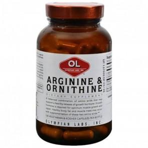 Olympian Labs Inc., Arginine & Ornithine, 100 Capsules