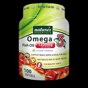 Natures Essentials Omega 3 Fish Oil 1200mg | Natures Essentials Omega 3 Fish Oil 1200mg Review
