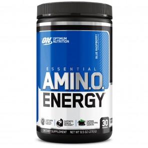 Optimum Nutrition Essential AmiN.O. Energy Blue Raspberry 30 Servings