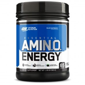 Optimum Nutrition Essential AmiN.O. Energy Blue Raspberry 65 Servings