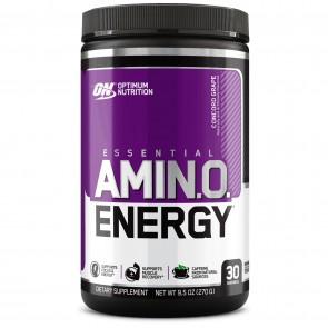Optimum Nutrition Essential AmiN.O. Energy Concord Grape 30 Servings