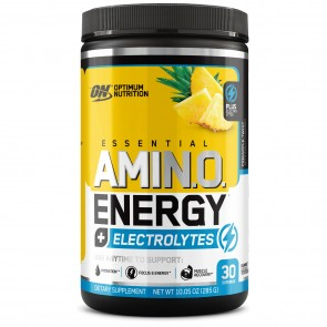 Optimum Nutrition Amino Energy Electrolytes Pineapple Twist 30 Servings