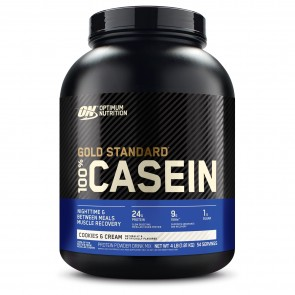 Optimum Nutrition Gold Standard 100% Casein Cookies and Cream 4 lbs
