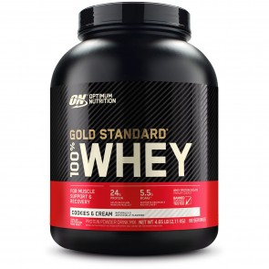 Optimum Nutrition Gold Standard 100% Whey Cookies and Cream 5 lbs