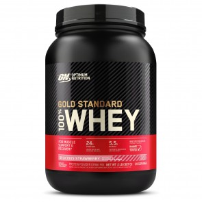Optimum Nutrition Gold Standard 100% Whey Delicious Strawberry 2 lbs