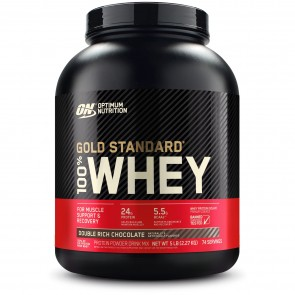 Optimum Nutrition Gold Standard 100% Whey Double Rich Chocolate 5 lb