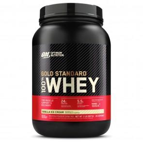 Optimum Nutrition Gold Standard 100% Whey Vanilla Ice Cream 2 lbs