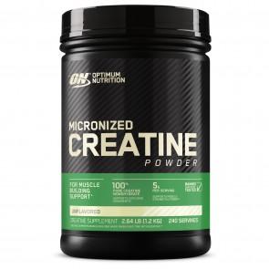 Optimum Nutrition Micronized Creatine Powder Unflavored 2.64 lb (1.2 kg) 240 Servings