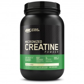 Optimum Nutrition Micronized Creatine Powder Unflavored 400 Servings