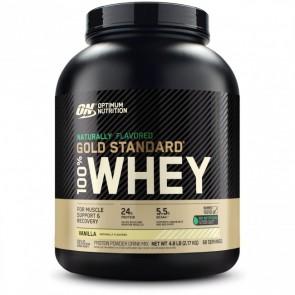 Optimum Nutrition Naturally Flavored Gold Standard 100% Whey Vanilla 4.8 lb