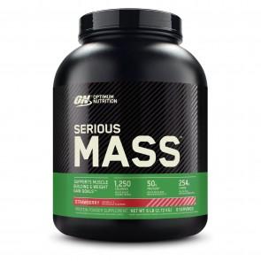 Optimum Nutrition Serious Mass Strawberry 6 lbs