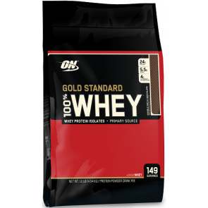 Gold Standard 100% Whey Double Rich Chocolate 10.35 lb by Optimum Nutrition