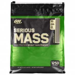 Optimum Nutrition Serious Mass Cookies and Cream 12 lbs