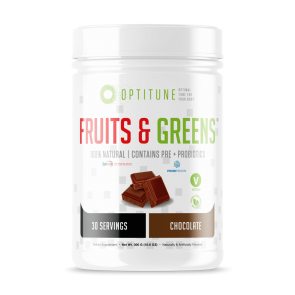 Optitune Fruits and Greens Chocolate