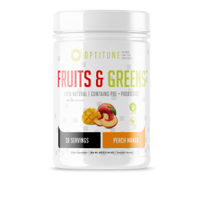 Optitune Fruits and Greens Peach Mango