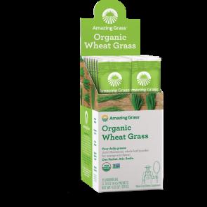 Amazing Grass Organic Wheat Grass 15 Individual Packets
