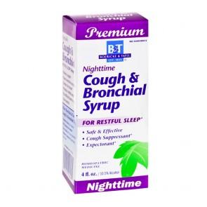 Boericke&Tafel Nighttime Cough&Bronchial Syrup 4 floor ounces