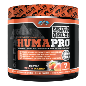 ALR Industries HumaPro Exotic Peach Mango 7 Servings