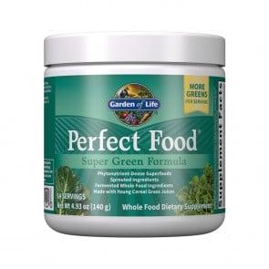 Garden of Life Perfect Food Super Green Formula Powder 4.94 oz