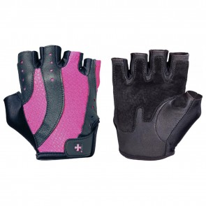 Harbinger Women's Pro Gloves Black/Pink Medium