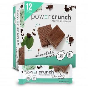 Power Crunch Original Chocolate Mint 12 Protein Bars