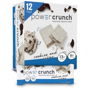 Power Crunch Original Cookies & Crème 12 Protein Bars