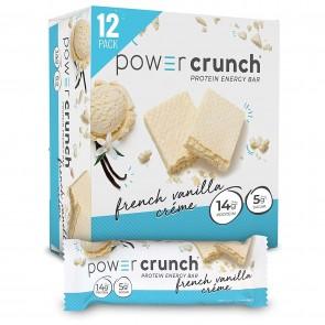 Power Crunch Original French Vanilla Crème 12 Protein Bars
