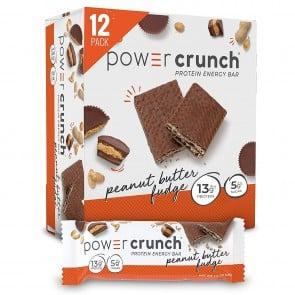 Power Crunch Original Peanut Butter Fudge 12 Protein Bars