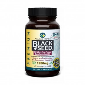 Amazing Herbs Black Seed Oil Softgel | Amazing Herbs Black Seed Oil