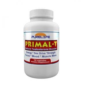Primal T   Primal T Natural Testosterone Booster 72 Capsules