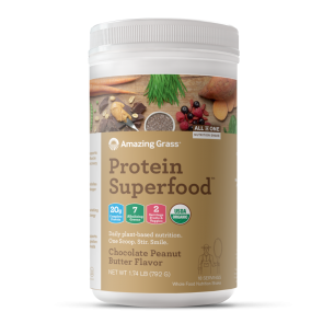 Amazing Grass Protein Superfood Chocolate Peanut Butter 1.74 lb
