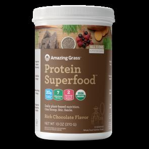 Amazing Grass Protein Superfood Rich Chocolate 13 oz